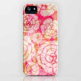 Flowered iPhone Case