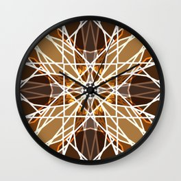 Cosmopolitan Mosaic Wall Clock