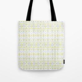 Yellow Batik Tote Bag