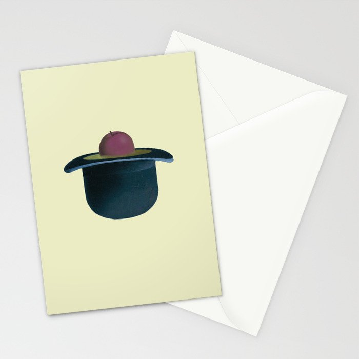 d53015eb900 A single plum floating in perfume served in a man s hat. Stationery ...