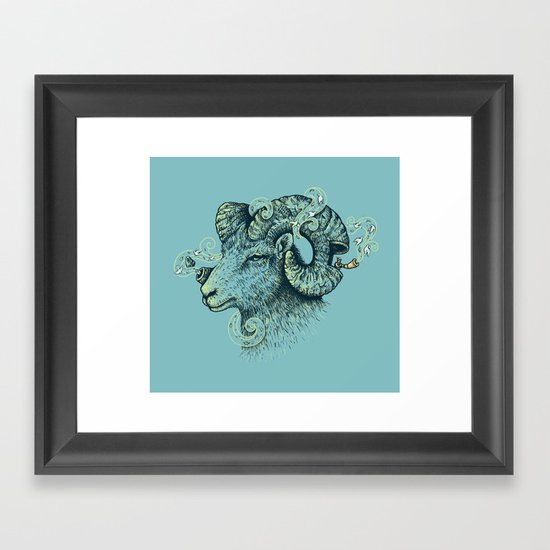 Big Horn Invocation Framed Art Print