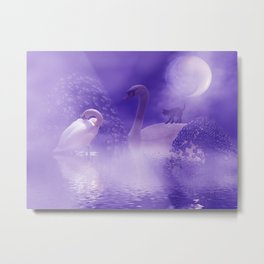 behind the fogs of Avalon -1- Metal Print