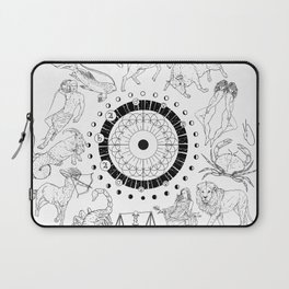 As Above, So Below - Zodiac Illustration Laptop Sleeve