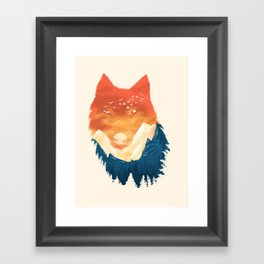 Wild Sunset Framed Art Print