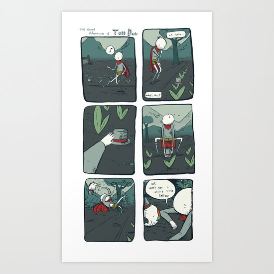 the meeting Art Print