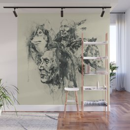 Native Heritage Vintage Collage Wall Mural