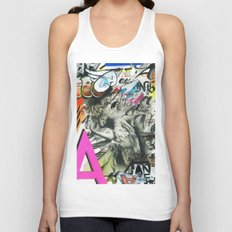 A is for Angel Unisex Tank Top