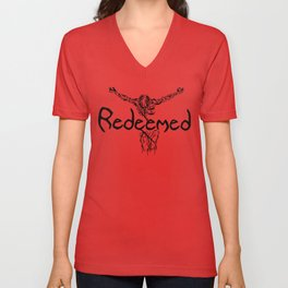 Redeemed Unisex V-Neck