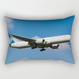 Air New Zealand Boeing 777 Rectangular Pillow