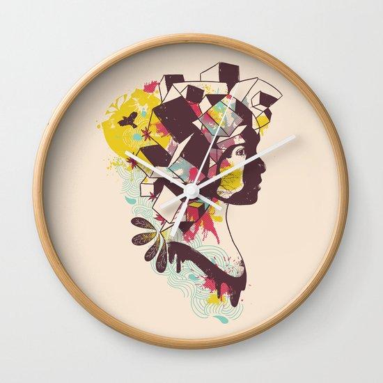 Overcrowded Memory Wall Clock