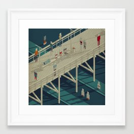 Habitat 25 Framed Art Print