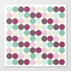 Modern Dots Canvas Print