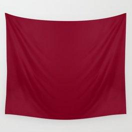 deep dark red or burgundy Wall Tapestry