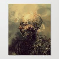 android Canvas Prints featuring Android by nlmda
