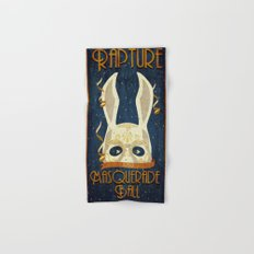 Rapture Masquerade Ball 1959 Hand & Bath Towel