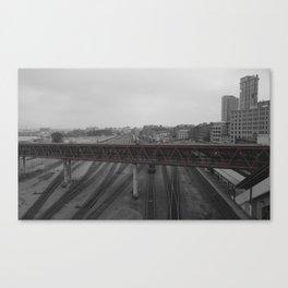 TrainWreck Canvas Print