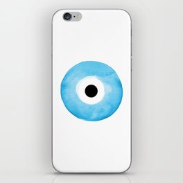 Watercolor Evil Eye iPhone Skin