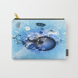 Cool Blue Autumn Jamboree Carry-All Pouch
