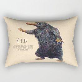Niffler art Fantastic Beasts Rectangular Pillow