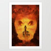 Immortan's Land Art Print