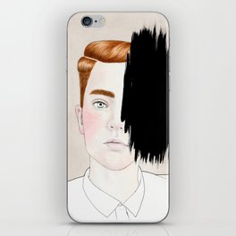 Hiding #3 iPhone Skin