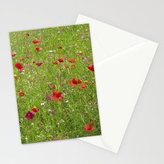 summer meadow IX Stationery Cards