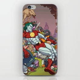 The Death of Captain Planet iPhone Skin