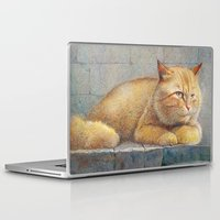 ginger Laptop & iPad Skins featuring Ginger by irshi