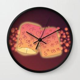 Loving Lanterns Wall Clock