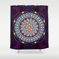 faith Shower Curtains featuring Faith by Genie Wilson