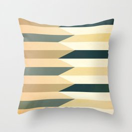 Pencil Clash I Throw Pillow