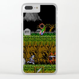 Ghost And Goblins Gameplay Clear iPhone Case