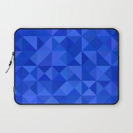 Blue pyramids Laptop Sleeve