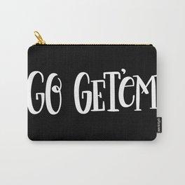 Go Get'em: black Carry-All Pouch