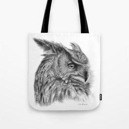 Eagle Owl G085 Tote Bag