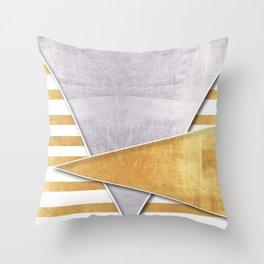 Sharp value Throw Pillow
