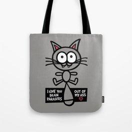 Feline Disclosure Tote Bag