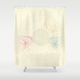 // Tube Infographics vol. III // Shower Curtain