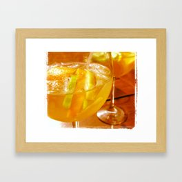 Sangria In The Afternoon Framed Art Print