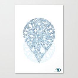A drop of creativity 8 Canvas Print