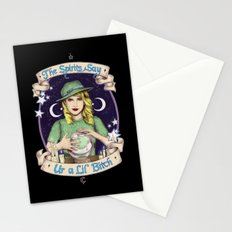 Mystic Miss Maggie Esmerelda (color) Stationery Cards
