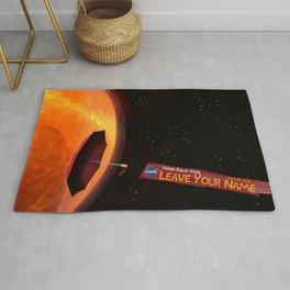 Parker Solar Probe Rug