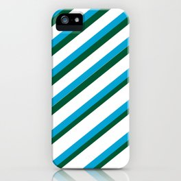 TEAM COLORS 1...LIGHT BLUE,GREEN iPhone Case