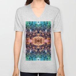 Acid Tropic Kaleidoscope Unisex V-Neck