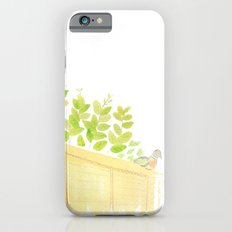Pigeon in garden iPhone 6s Slim Case