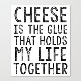 Cheese Foodie Gift Macaroni and Cheese Mac and Cheese Clothing Cheese Lover Chef Gift For Foodies Co Canvas Print