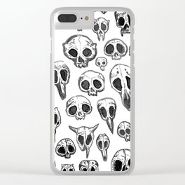 bestiary Clear iPhone Case