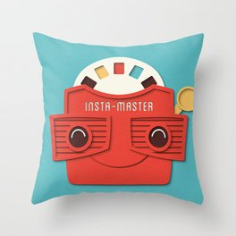 Insta-Master Throw Pillow