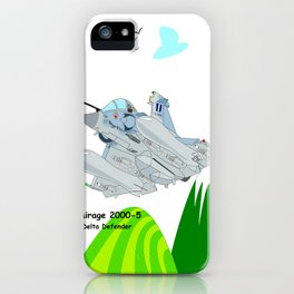 Mirage 2000-5 Aircraft iPhone Case