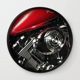 Harley Art Wall Clock